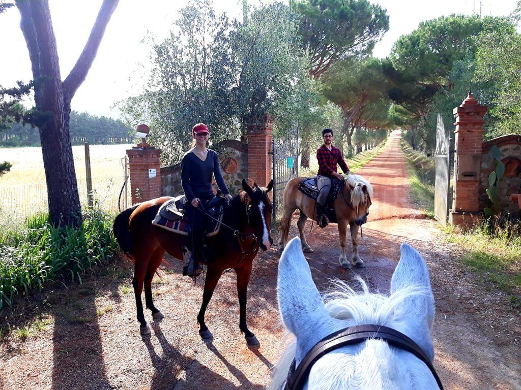 Toscana Ranch entrata nella Tenuta