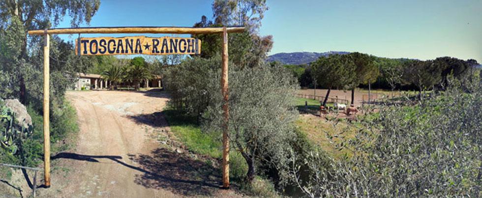 Un vero Ranch in Toscana
